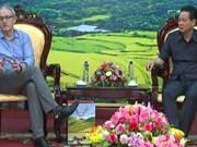 亚洲开发银行为越南河江省全面发展提供基础设施协助