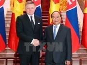 越南与斯洛伐克发表联合声明 强调加强多领域合作