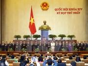 越南第十四届国会第一次会议:国会投票通过政府成员任命名单