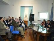 阿根廷希望同越南加强经贸合作关系