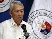 菲律宾敦促中国尊重法律至上原则