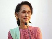 缅甸国家顾问呼吁该国各方团结实现永久和平