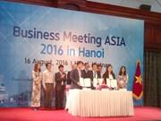 2016年亚洲商务会议在河内举行