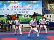 第16届越南全国空手道俱乐部锦标赛正式开赛