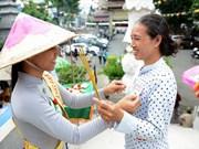 越南全国各地欢度盂兰节