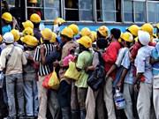 马来西亚逮捕400多名非法外劳