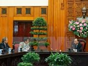 越南政府总理阮春福会见日本经济组织联合会代表团
