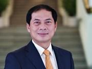 越南外交部副部长裴青山就第29届外交会议的结果接受采访