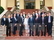 越南公安部部长苏林会见美国客人