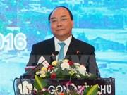 阮春福总理出席宁顺省投资促进会议为企业创造发展空间