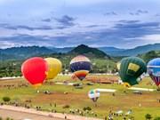 国际热气球节首次在山罗省举行