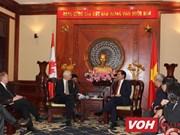 胡志明市希望与加拿大各地加强合作