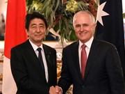日本和澳大利亚强调东海问题的共同立场