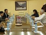 越南《人民报》与古巴《格拉玛报》加强合作
