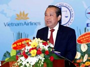 张和平副总理出席越南国际法协会成立大会