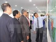 老挝首都万象高级代表团赴平阳省访问考察