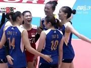 中国队夺得2016年亚洲女排锦标赛冠军