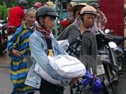 广治省红十字会向环境污染灾区渔民捐赠40吨大米