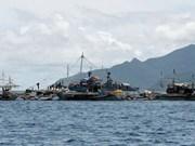 非法捕捞的两艘中国渔船遭印尼扣押