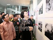 """""""1961至1975年时期传奇的胡志明小道老挝段""""图片展正式开展"""