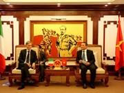 越南与意大利全面加强交通运输领域合作