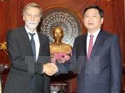 胡志明市加强与意大利企业合作关系