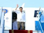 菲律宾总统罗德里戈·杜特尔特抵达河内内排机场 开始对越南进行正式访问(组图)