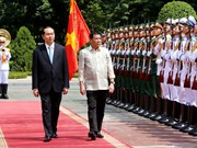 菲律宾总统罗德里戈·杜特尔特抵达河内 开始对越南进行正式访问(组图)