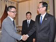 日本企业代表团在胡志明市寻找投资机会