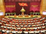 越共十二届四中全会第三天新闻公报