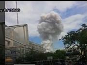 菲律宾发生严重火灾 至少10人受伤 死亡人数不明