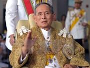 越南领导人就泰国国王普密蓬逝世向泰国王后和领导人致唁电