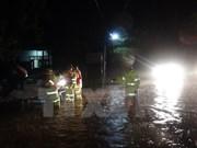 越南广平、广治、河静和乂安四省遭强降雨袭击受灾严重