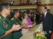陈大光主席:主动掌握情况 牢牢捍卫首都河内的绝对安全