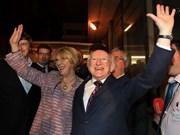 爱尔兰总统希金斯即将对越南进行国事访问