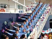 东南亚与日本青年船11日将抵达越南胡志明市