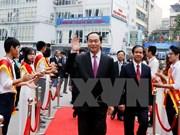 陈大光主席要求自然科学大学进一步加强科研工作