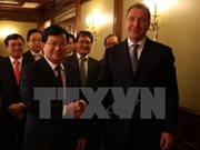 越南政府副总理郑廷勇访问俄罗斯 同俄第一副总理伊戈尔•舒瓦洛夫举行会谈