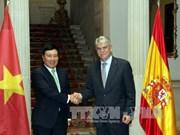 越南政府副总理兼外交部长范平明对西班牙进行正式访问(组图)