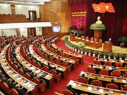 越共十二届中央委员会第六次全体会议落下帷幕