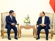 越南领导人会见国际客人 (组图)