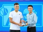 Singha TATP Tour国际男网锦标赛:范明俊摘银