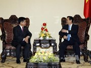 越南政府总理阮晋勇和副总理范平明会见中国云南省委书记李纪恒