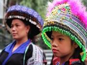 传统手工艺品慈善展在河内举行