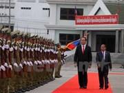 加强越老两国在各个领域的合作关系