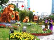 国家主席张晋创出席胡志明市阮惠春节花街开幕式