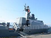 越南参加在印度举行的2016年国际舰队阅兵仪式
