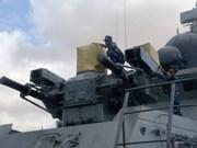 越南在印度国际舰队阅兵仪式上的印记