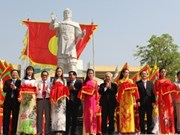 越南平定省举行光忠皇帝肖像落成典礼