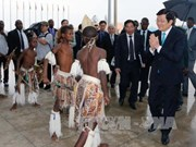 越南国家主席张晋创出访莫桑比克的相关活动